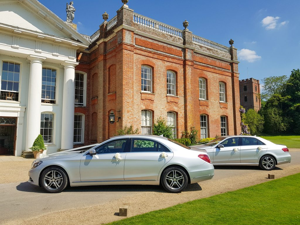 Luxury Modern Silver Mercedes Wedding Cars And Vehicles For Hire With Uniformed Chauffeurs In Fareham, Gosport, Southampton, Portsmouth, Winchester, Eastleigh, Chandlers Ford, Hampshire
